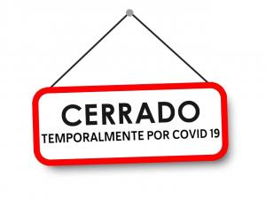 Cerrado temporalmente por COVID 19