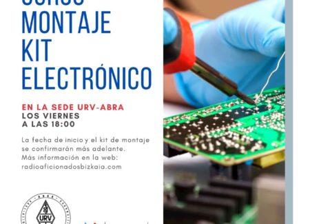 Curso Montaje Kit Electrónico